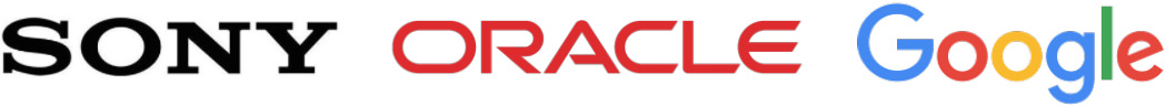 sony_oracle_google_logo